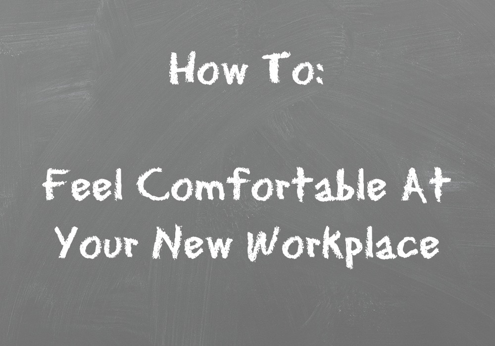 how to feel comfortable at your new workplace hello black. Black Bedroom Furniture Sets. Home Design Ideas
