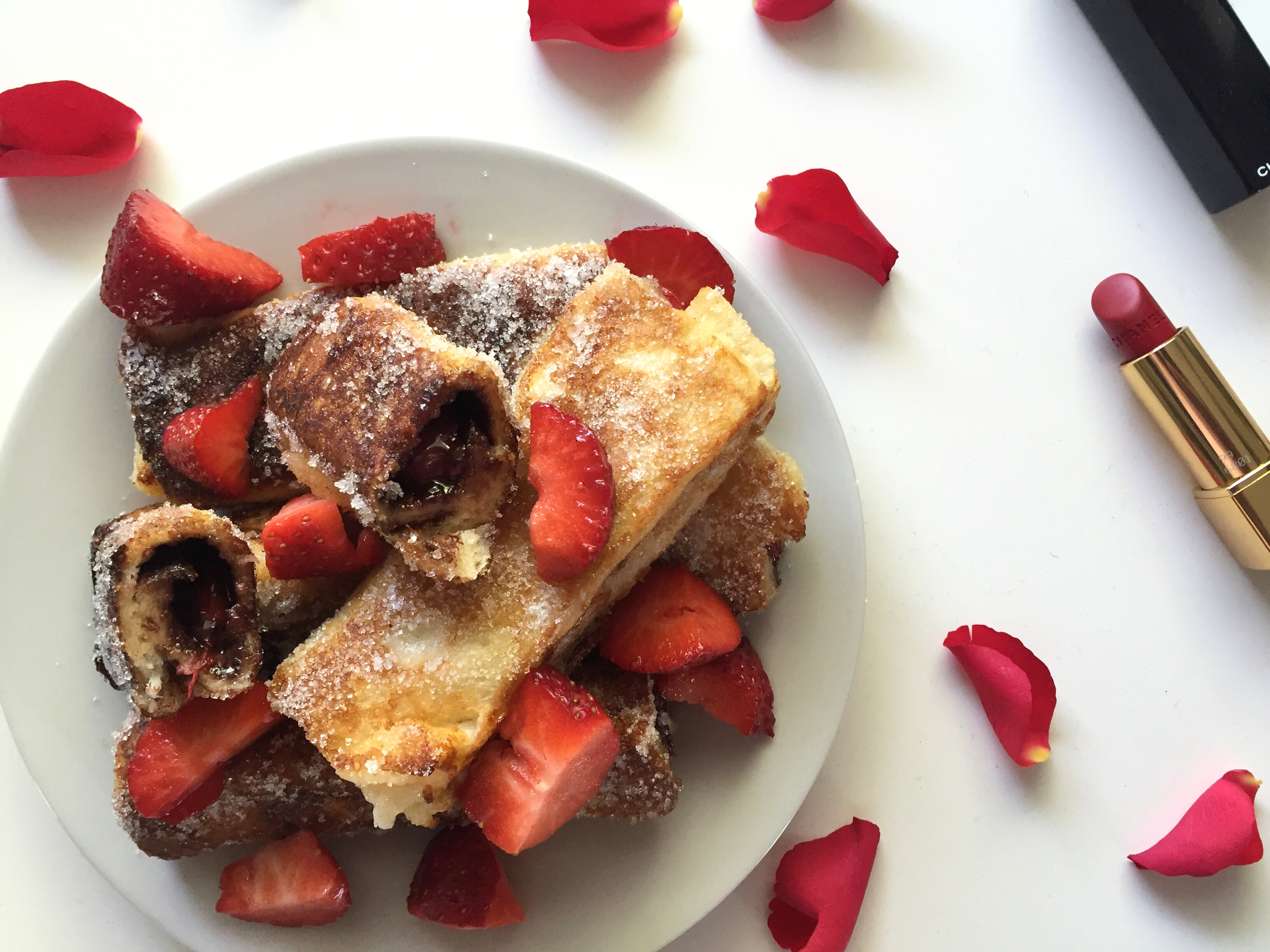 Nutella Strawberry French Toast 1