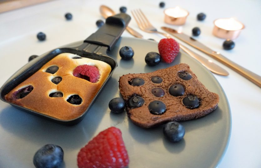 Raclette Pancakes